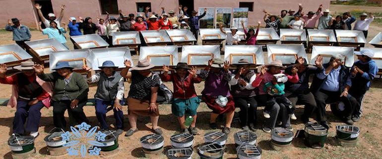 Cocinas solares: una solución sustentable en la Puna argentina