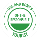 The dos and don'ts of the responsible tourist