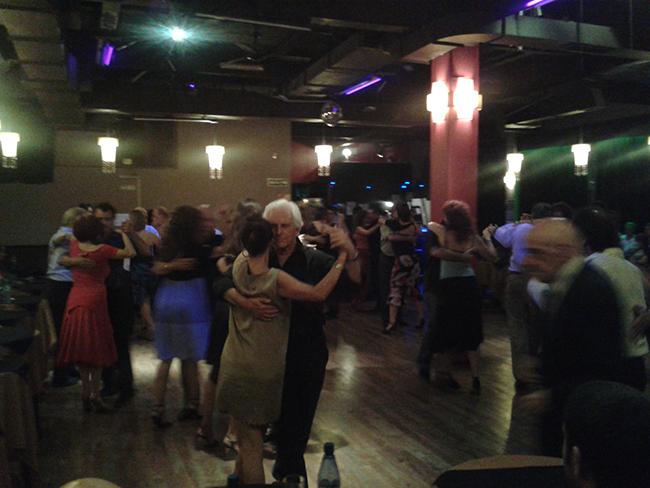 Tarde de tango y milonga