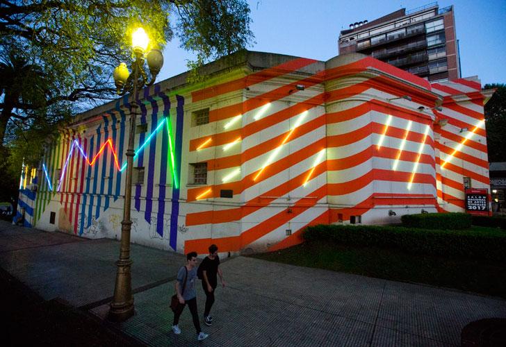 Bienalsur Bertrand Ivanoff en Palais de Glace